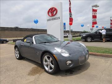 2008 Pontiac Solstice for sale in Houston, TX