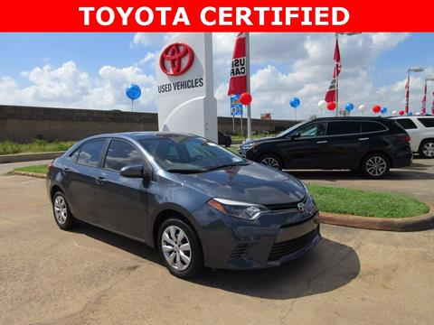 2016 Toyota Corolla for sale in Houston, TX