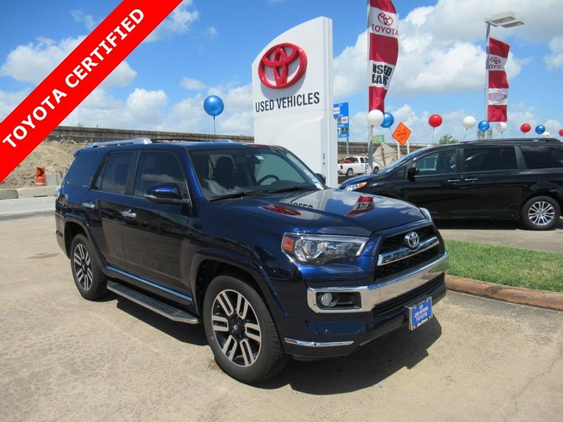 2017 Toyota 4Runner 4x2 Limited 4dr SUV   Houston TX