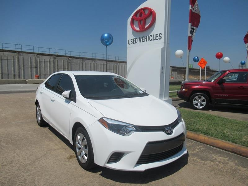 ... 2016 Toyota Corolla In Houston TX Joe Myers Toyota PreOwned