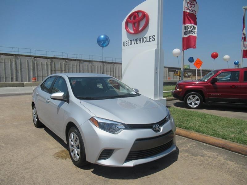 2016 Toyota Corolla   Houston TX