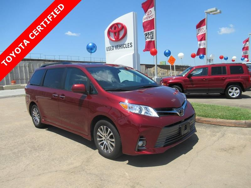 2018 toyota sienna xle in houston tx - joe myers toyota preowned