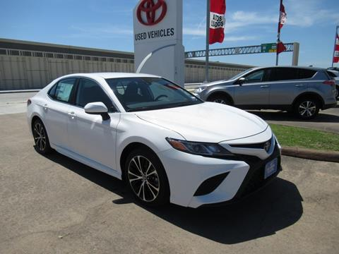 2019 Toyota Camry for sale in Houston, TX
