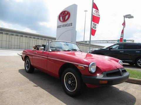 1977 MG MGB for sale in Houston, TX