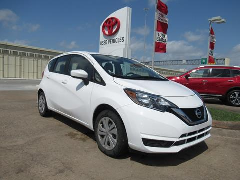 2018 Nissan Versa Note for sale in Houston, TX
