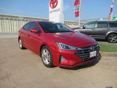 2019 Hyundai Elantra for sale in Houston, TX