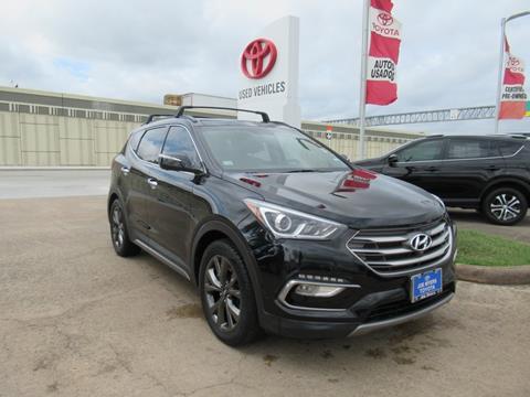 2017 Hyundai Santa Fe Sport for sale in Houston, TX