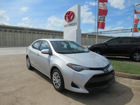 2017 Toyota Corolla for sale in Houston, TX