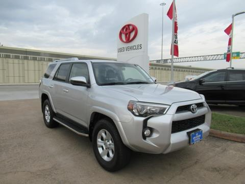 2017 Toyota 4Runner for sale in Houston, TX