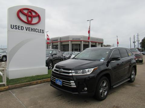 2017 Toyota Highlander for sale in Houston, TX