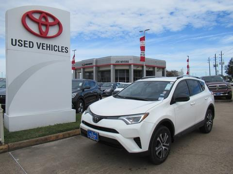 2017 Toyota RAV4 for sale in Houston, TX
