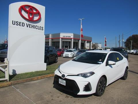 2018 Toyota Corolla for sale in Houston, TX