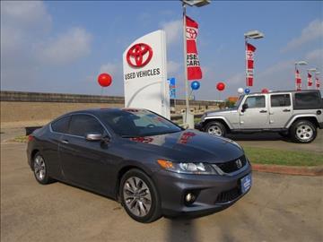 2013 Honda Accord for sale in Houston, TX