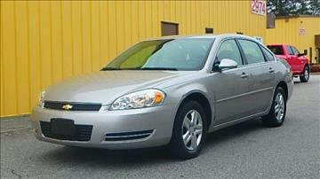 2006 Chevrolet Impala for sale at GLAutoSale in Smyrna GA