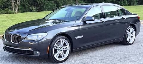 2009 BMW 7 Series for sale at Georgia Luxury Autos in Smyrna GA