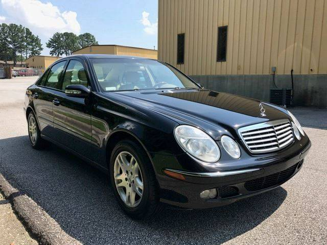 2004 Mercedes-Benz E-Class for sale at Georgia Luxury Autos in Smyrna GA