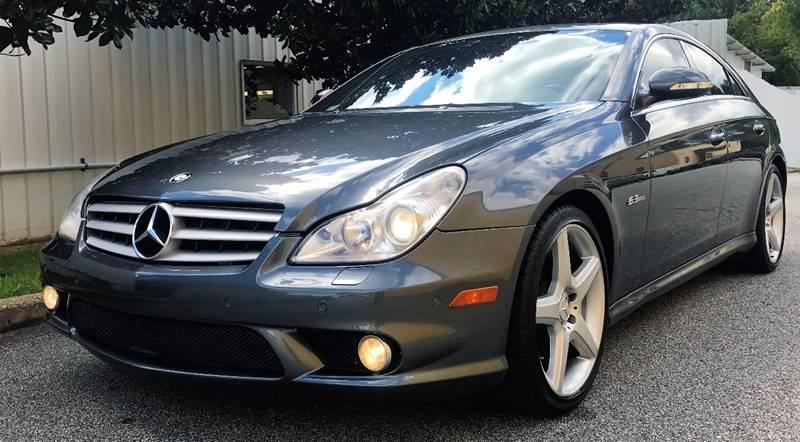 2007 Mercedes-Benz CLS for sale at Georgia Luxury Autos in Smyrna GA