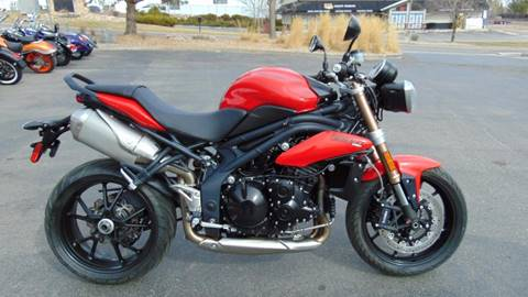 2012 Triumph Speed Triple for sale in Fort Collins, CO
