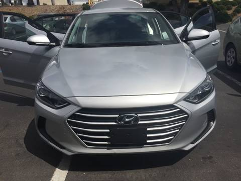 2017 Hyundai Elantra for sale at Cars4U in Escondido CA