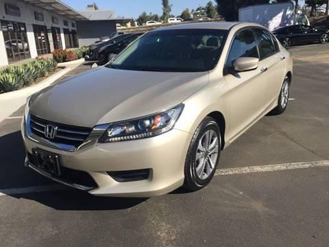 2013 Honda Accord for sale at Cars4U in Escondido CA