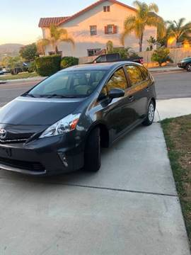 Used Toyota Prius Near Me >> 2013 Toyota Prius V For Sale In Escondido Ca