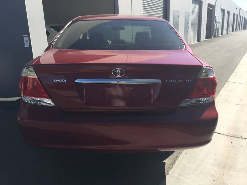 2005 Toyota Camry for sale at Cars4U in Escondido CA