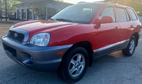 2004 Hyundai Santa Fe for sale at Auto Target in O'Fallon MO