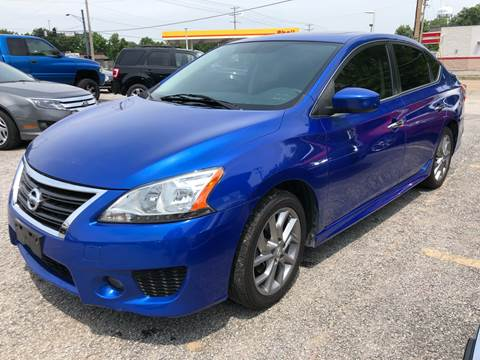 2013 Nissan Sentra for sale at Auto Target in O'Fallon MO