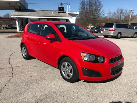 2015 Chevrolet Sonic for sale at Auto Target in O'Fallon MO