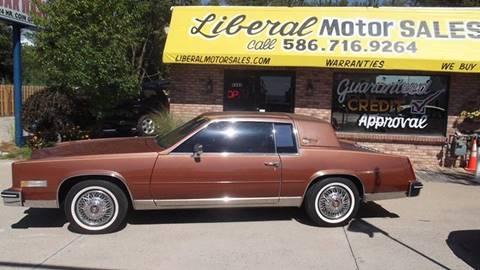 1984 Cadillac Eldorado for sale in Fair Haven, MI