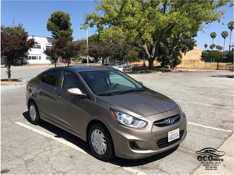 2012 Hyundai Accent for sale at QCO AUTO in San Jose CA