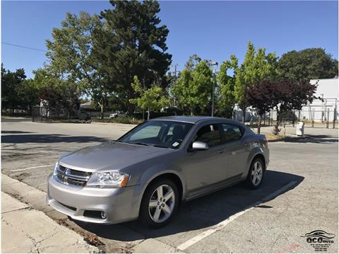 2012 Dodge Avenger for sale at QCO AUTO in San Jose CA