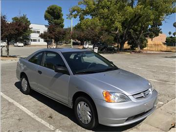 2003 Honda Civic for sale at QCO AUTO in San Jose CA