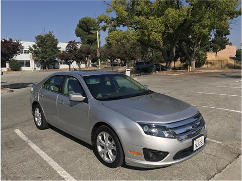2012 Ford Fusion for sale at QCO AUTO in San Jose CA