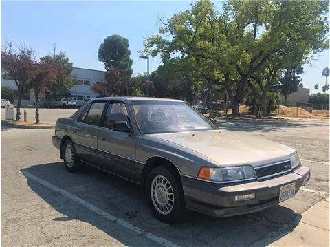 1987 Acura Legend for sale at QCO AUTO in San Jose CA