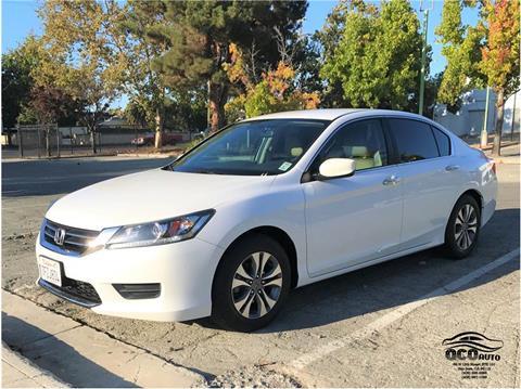 2014 Honda Accord for sale at QCO AUTO in San Jose CA