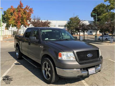 2005 Ford F-150 for sale at QCO AUTO in San Jose CA