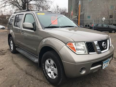 2007 Nissan Pathfinder for sale in Minneapolis, MN