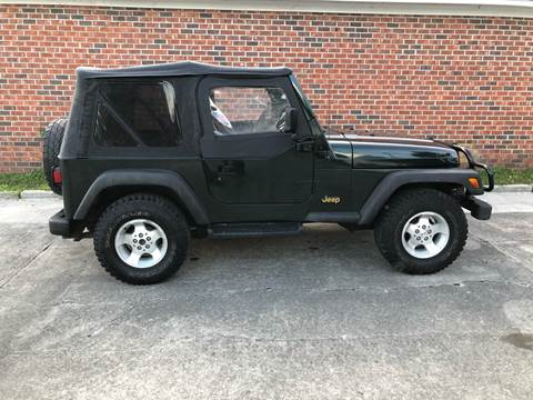 Jeep Wrangler For Sale In Sc >> 1997 Jeep Wrangler For Sale In Conway Sc