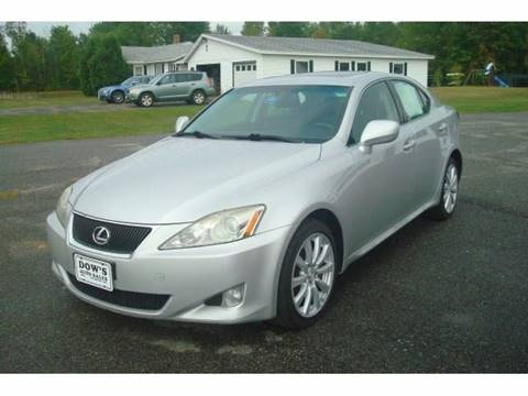 2008 Lexus IS 250 for sale in Palmyra, ME