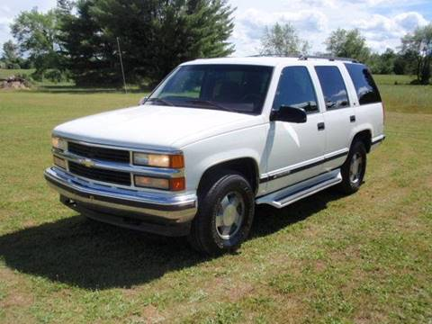 1999 Chevrolet Tahoe For Sale  Carsforsalecom