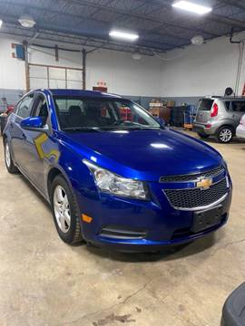 2012 Chevrolet Cruze LT for sale at Brian's Direct Detail Sales & Service LLC. in Brook Park OH