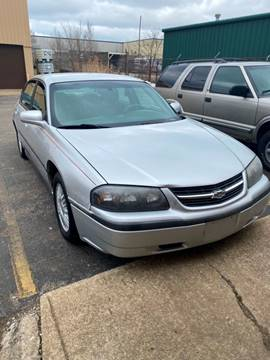 2000 Chevrolet Impala for sale at Brian's Direct Detail Sales & Service LLC. in Brook Park OH