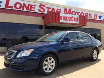 2008 Toyota Avalon for sale at LONE STAR MOTORS II in Fort Worth TX