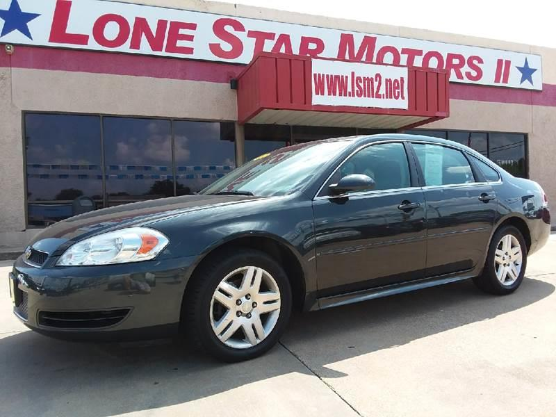 2014 Chevrolet Impala Limited for sale at LONE STAR MOTORS II in Fort Worth TX