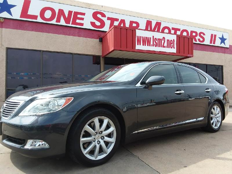 2008 Lexus LS 460 for sale at LONE STAR MOTORS II in Fort Worth TX