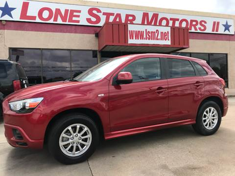 2011 Mitsubishi Outlander Sport for sale in Fort Worth, TX