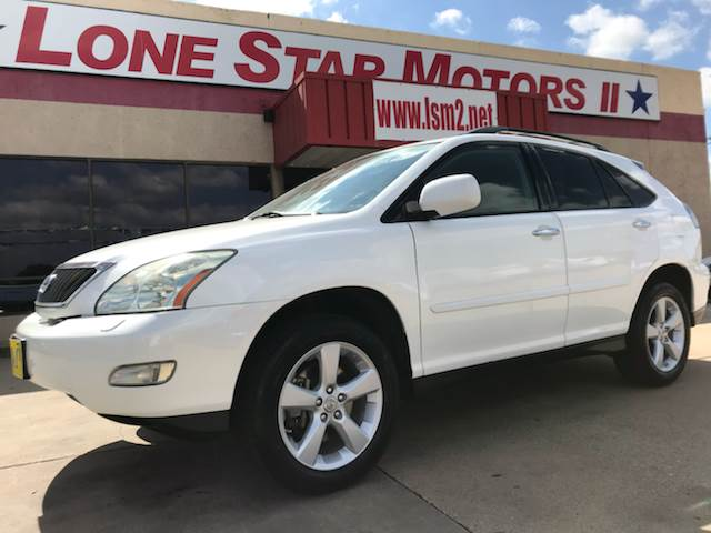 2008 Lexus RX 350 for sale at LONE STAR MOTORS II in Fort Worth TX