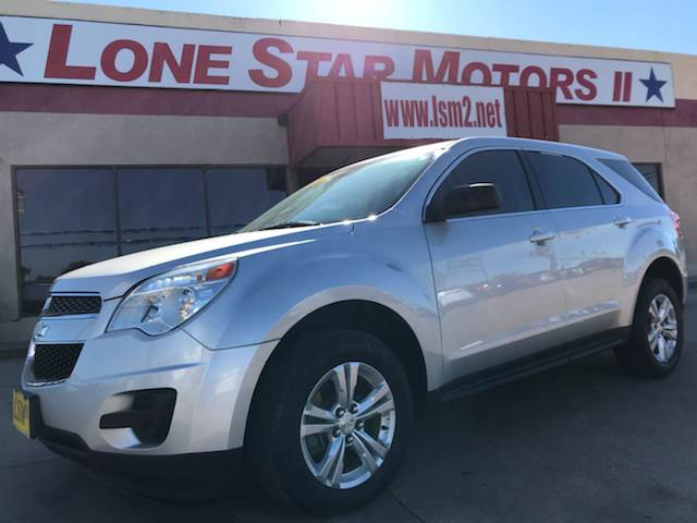 2015 Chevrolet Equinox for sale at LONE STAR MOTORS II in Fort Worth TX