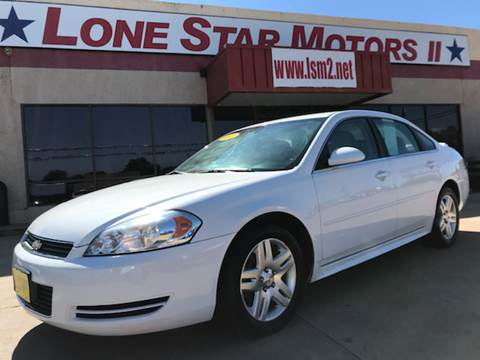 2011 Chevrolet Impala for sale in Fort Worth, TX